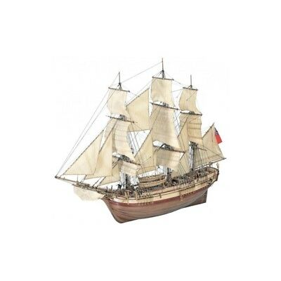 Wooden Model Ship Kit: Hms Bounty 1/48 AL22810 New!
