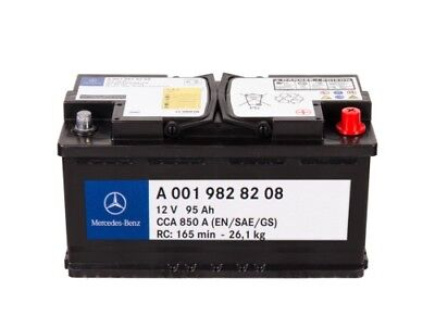 Mercedes Benz Gl-Class X164 2006-2016 Banner Auxiliary Battery 12Ah
