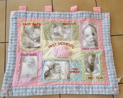 Designs Baby's 1st Memories Wall Collage 6  Picture Frame Decorations Girl room