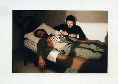 #ha96 Day Of The Dead Zombie Horror Movie Actor Makeup Artist Tom Savini Photo
