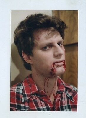 #h585 Day Of The Dead Walking Evil Zombie Horror Film Actor Makeup Art Photo
