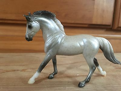 Breyer Stablemates Cantering Warmblood Grey G3 #5906
