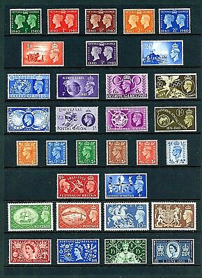 Great Britain #252//316 (GR400) Nice Group of Comp Sets, M,LH,H,FVF,CV$127.95
