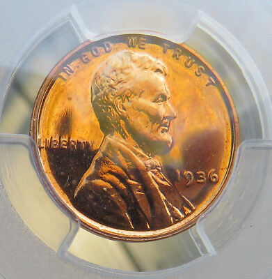 1936 Lincoln, PCGS Certified Proof-64 Red Brilliant.  PQ +++ !