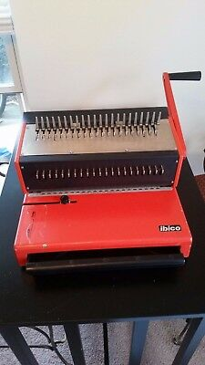 Ibico AG Seestrasse 346 CH-8038 Switzerland Ibimatic binding machine