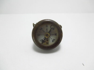 Vintage Marbles Military Compass Brass Gladstone USA Knife Pin US