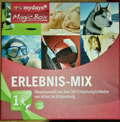 May Days Magic Box Erlebnis Mix im Wert von 50€