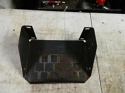 new holland ls180b battery box .plate/mount / skid steer loader