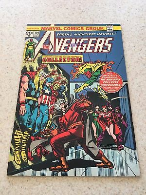 Avengers #119 FN 6.0  Thor, Vision, Captain America, Iron Man vs. the Collector