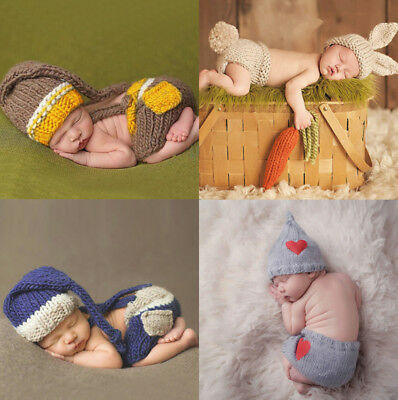 Baby Hats / Photo Shoot Prop Outfits / Newborn Photography Baby Shower Gift