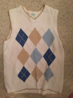 Boys sweater vest The Childrens Place Size L 10/12 New Without Tags