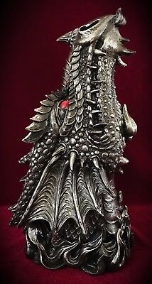 Dragon Incense Burner-Mythical Fire Smoke Breathing-Stick Holder Gift Large 12""