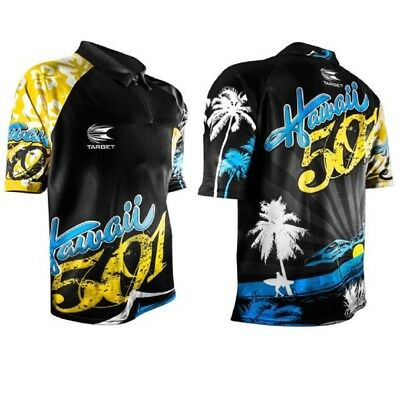 Target Wayne Mardle Hawaii 501 Official Replica Coolplay Darts Shirt XL - BNWT