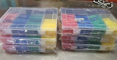 6 x 530 pcs  Heat Shrink Tubing  Assortment Wire Cable Insulation Sleeving Kit