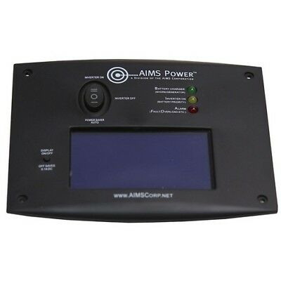 AIMS POWER REMOTELF LCD Remote Panel for Inverter Chargers G4429735