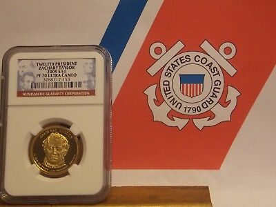 2009 S NGC PF70  Ultra Cameo Zachary Taylor 12th President Fee shipping