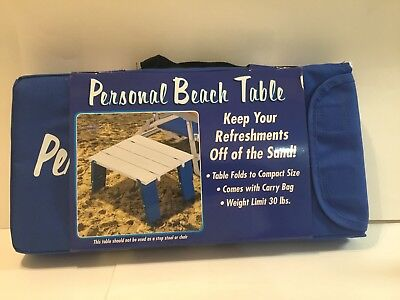 RIO Brands Personal Beach Table BPT-01 New