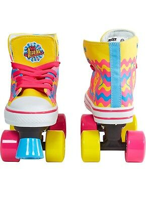 NUEVOS Patines Soy Luna con luces - NEW Soy Luna Roller Skates Light Up 5-6