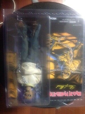 """Iron Maiden - Piece of Mind Clothed 8"""" Action Figure"""