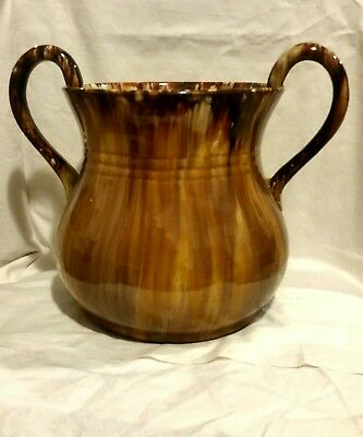 John Campbell Pottery  Twin Handled Vase.