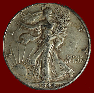 1944-P Walking Liberty 90% Silver Half Ships Free. Buy 5 for $2 off