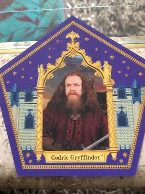 Godric Gryffindor Chocolate Frog Card