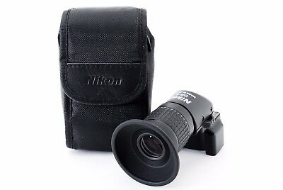 Nikon DR-6  Right Angle Viewfinder w/Case [Near Mint] Free Shipping from Japan