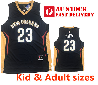 NBA JERSEY Anthony Davis #23 - New Orleans Pelicans dark blue adult AU STOCK