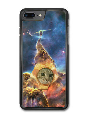 Funny Cute Cat in Pizza Space Hipster Cool Design case for iPhone 8 Plus