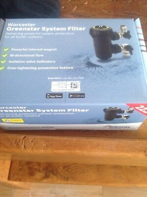 Worcester Filter Unopened And Brand New