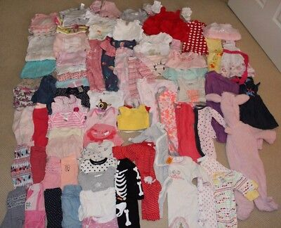 BULK lot of Baby Girl size 000 clothes - Over 80 items in total - PICKUP 3140