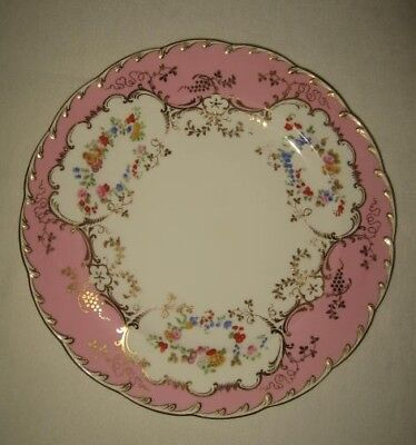 Eight Hand Painted Tiffany Dinner Plates by Minton