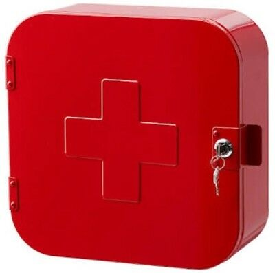 Medical Cabinet - IKEA - RED - Brand New.