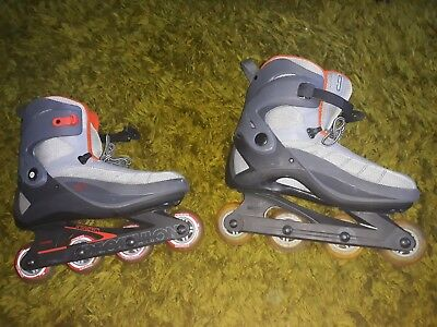 USED couple times  (Decathlon) mens Size 10.5 Roller Blades Inline Skates
