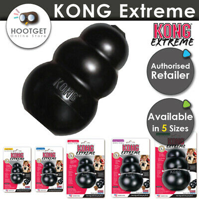 KONG Extreme Stuffing Treat Dog Toy Tough Training Chew Play S M L XL XXL-5 Size