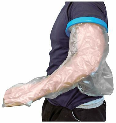 Waterproof Cast And Bandage Protector For Use Whilst Showering (Adult Long Arm)