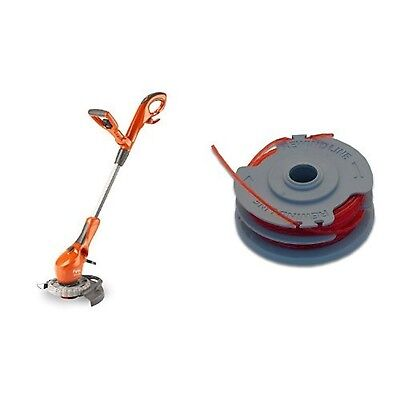 Flymo Contour 650E Electric Grass Trimmer and Edger 650W with Flymo Double Li...