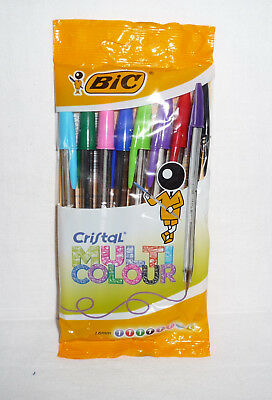 BIC - Cristal Multicoulor 10 Stück Packung