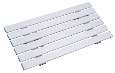 Aidapt Medina Reinforced Plastic Shower And Bath Board 140x660x350 mm White