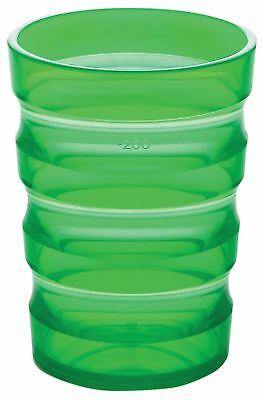 Aidapt Sure Grip Mug With Cap (small Hole) Green