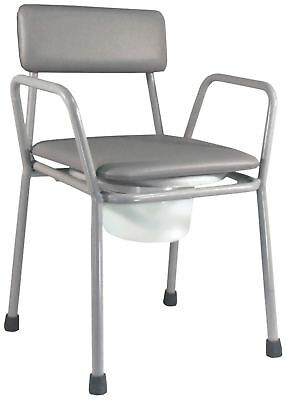 Aidapt Kent Stacking Commode Chair (colour Grey )