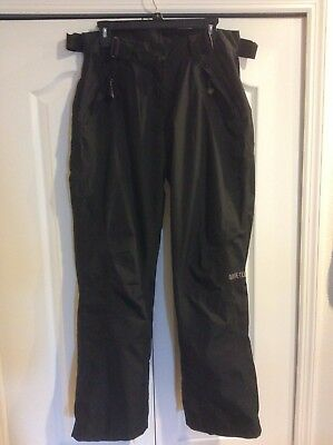 Women's Size 10 GORE-TEX Shell Wide Leg Belt Waist - AFRC Ski/Snow Pants - NWOT