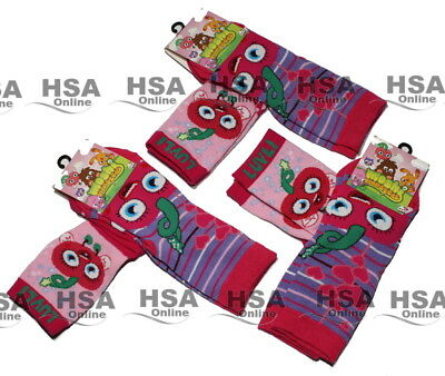 Girls 2 - 4 Pairs Socks Moshi Monsters Kids Cute Funky Socks Birthday socks