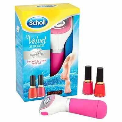 Scholl Velvet Smooth with Diamond Crystals Pink Glam & Pedi Gift Set