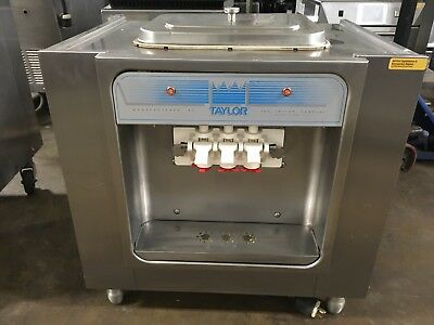 Taylor 162-27 Tabletop Twin Twist Air Cooled Soft Serve Ice Cream Machine
