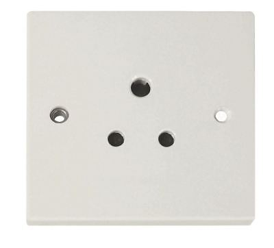 Eagle Round Pin Unswitched 5 A Socket