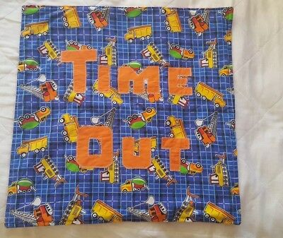 Boy childs/toddler time out mat