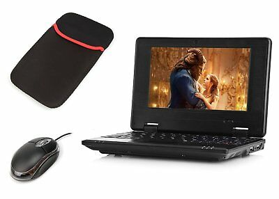 Android Mini laptop Notebook Black 4.4- 4GB Storage 7 Inch Netbook Student Home