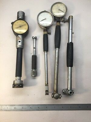 Standard Mitutoyo Machinist Lot Dial Indicator Bore Hole Gage Machinist Lot R201
