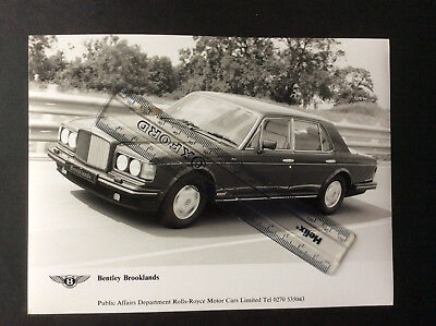 Bentley Brooklands In Action Black And White Press Photograph